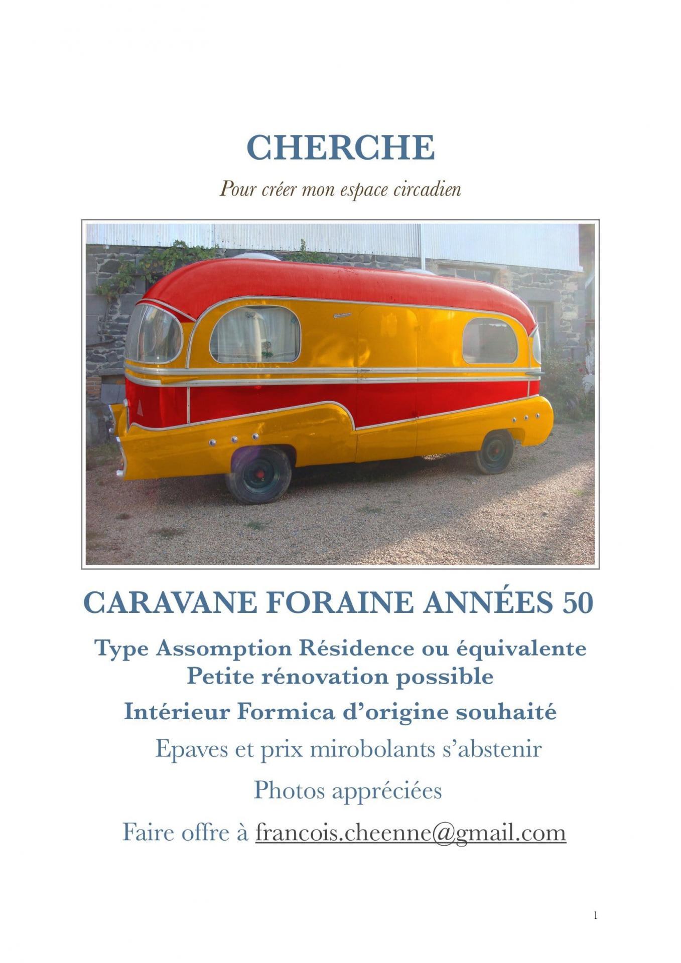 Annonce caravane definitive
