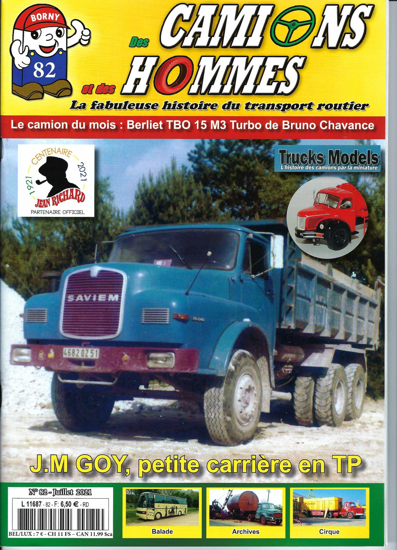 Camions hommes