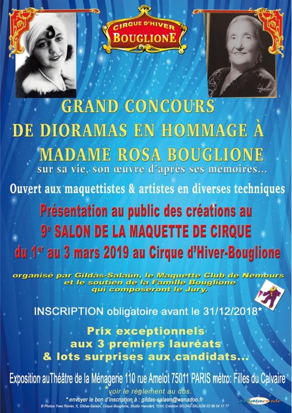 Concours rosa boulgione inscription