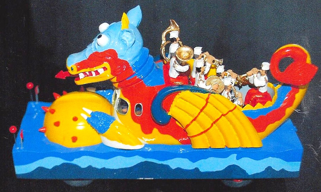Dragon pop art 1961
