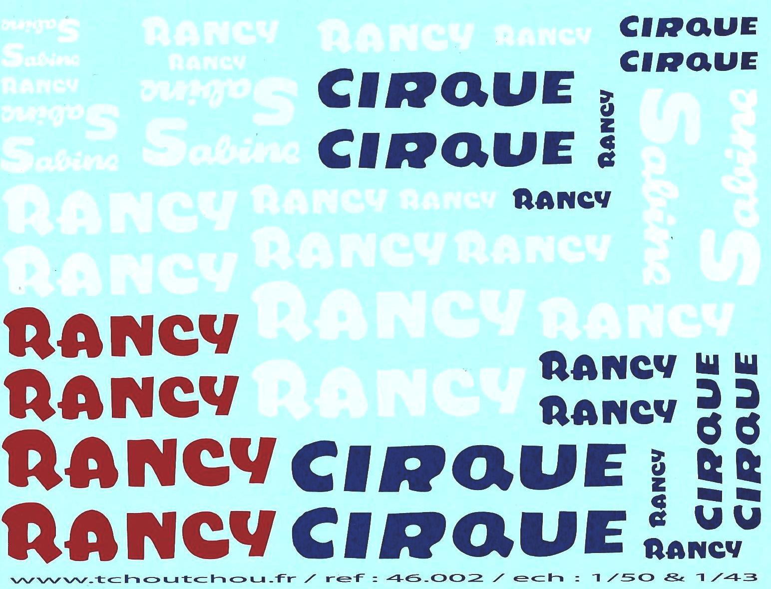 Planche rancy 109 ra